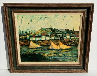 Donald Purdy Boats Oil