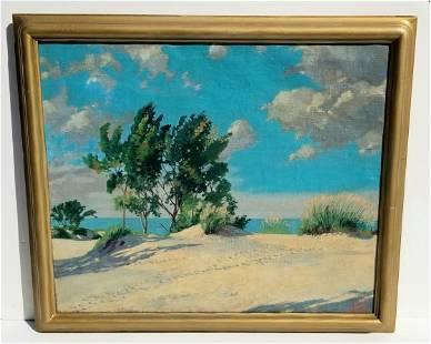 Tom Wilder Beach Oil