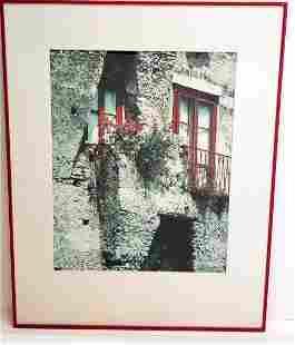 Nick Zungoli Red Windows Photograph