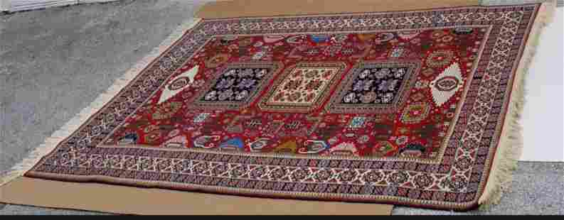 Inscribed Azerbaijan Large Persian Carpet