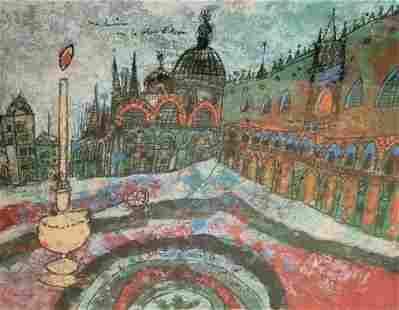 Theo Tobiasse Modernist Graphic Ed 175