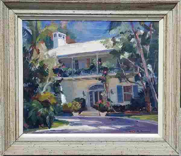 Emile Gruppe Florida Estate Painting