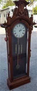 Victorian Jewelers Regulator Floor Clock