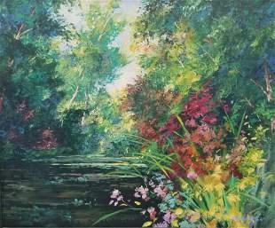 Orig Art Fronckowiak FL Artist Painting