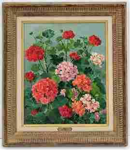 Jean Verdier Painting Wally Findlay Prov