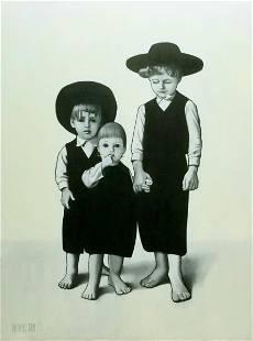 Large Original Antonius Grol Amish Oil