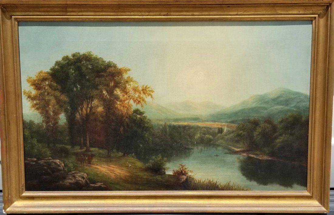 Hudson River School Landscape Estate Find