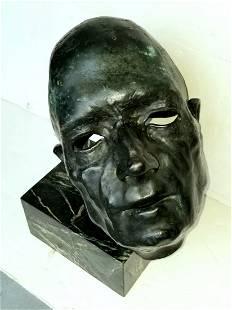Kahlil Gibran Bronze Portrait Sculpture