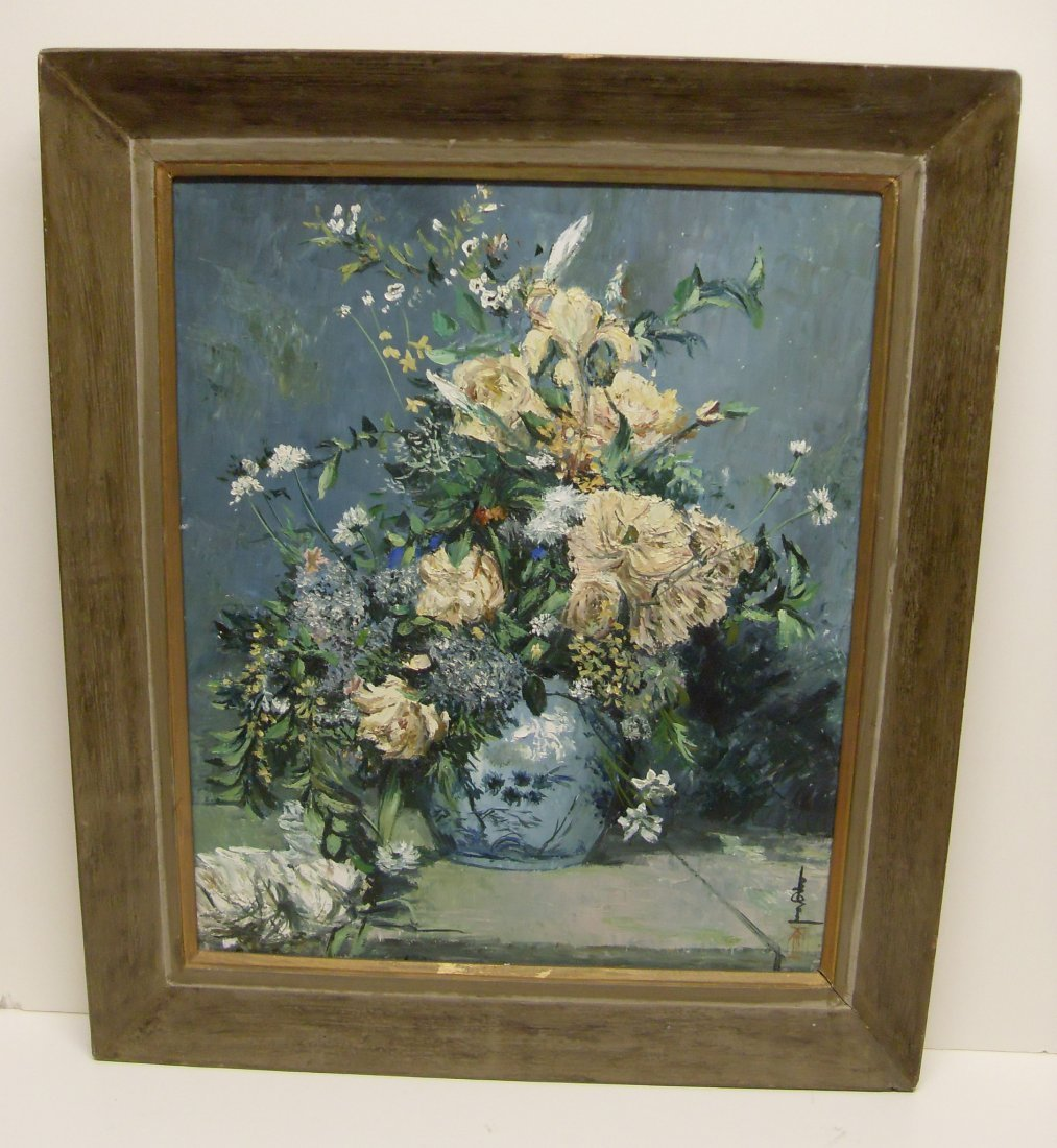 Unknown Unidentified Artist Signed Chinese Still Life