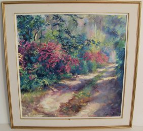 Large Frederick Guess Florida New Orleans Impressionist