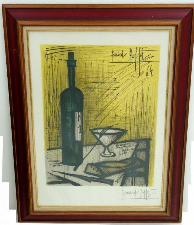 Bernard Buffet Paris 1965 Pencil Signed Lithograph - 2