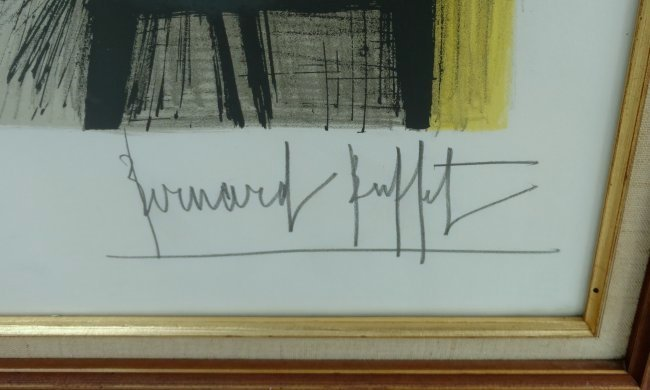 Bernard Buffet Paris 1965 Pencil Signed Lithograph - 6