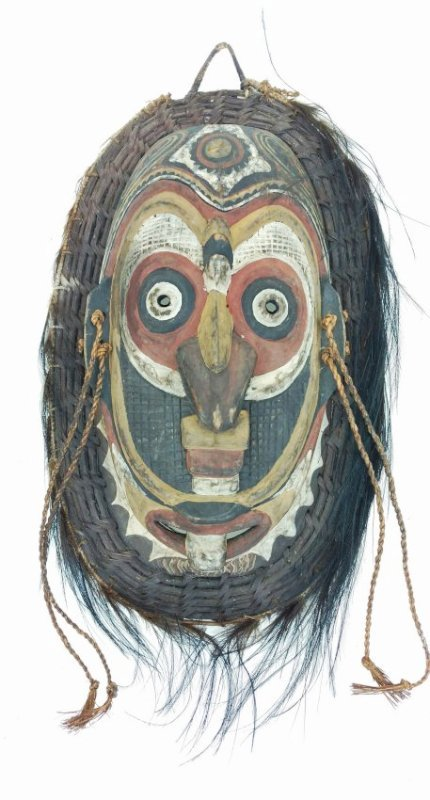 Painted Mask Clinton Collection African Tribal Art