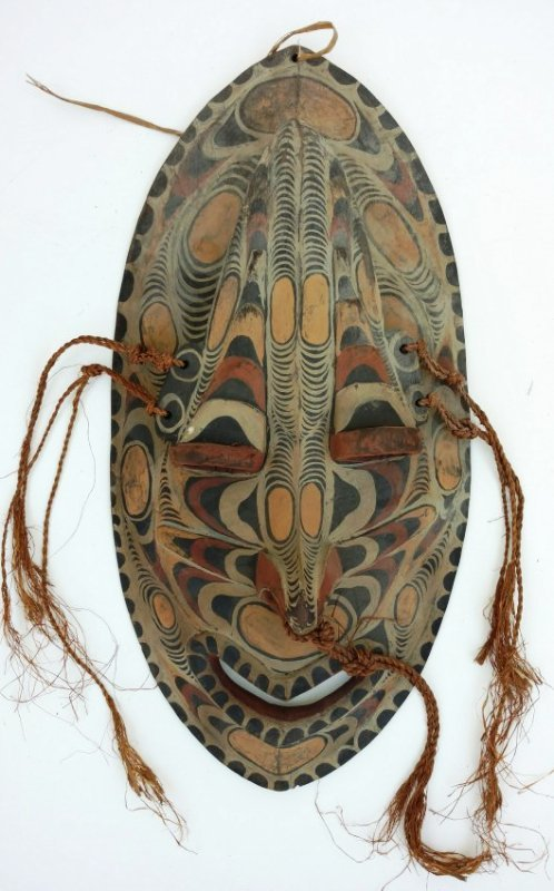 Large Carved Mask Clinton Collection African Tribal Art
