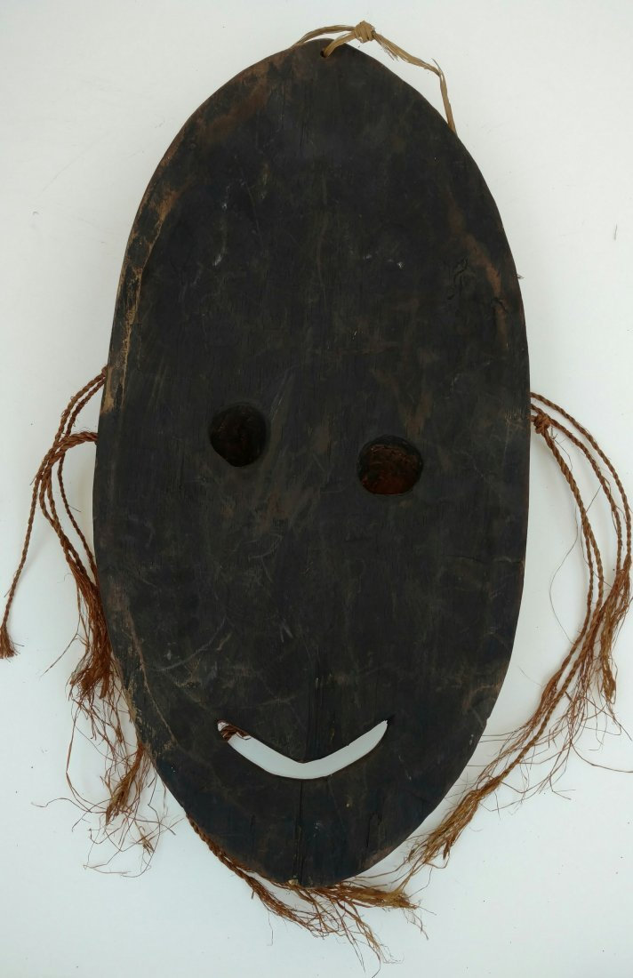 Large Carved Mask Clinton Collection African Tribal Art - 2