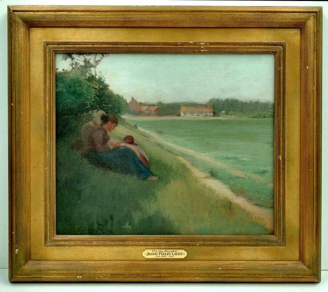 Jessie Pixley Lacey Chicago French Impressionist Women