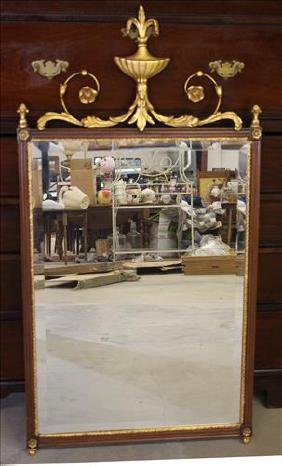 Contemporary decorator mirror, 50 x 26