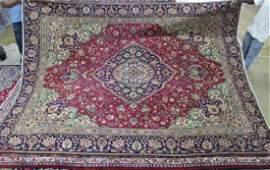 Semi antique Persian Tabriz rug 92 x 122