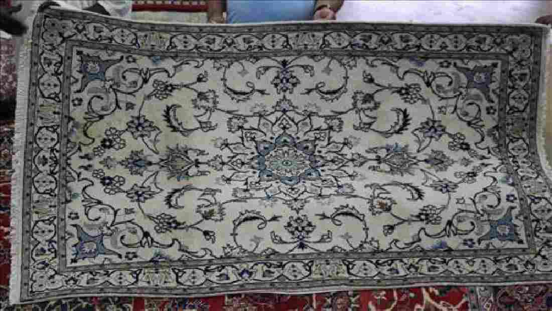 Semi antique Persian Nahin rug, 4.2 x 7