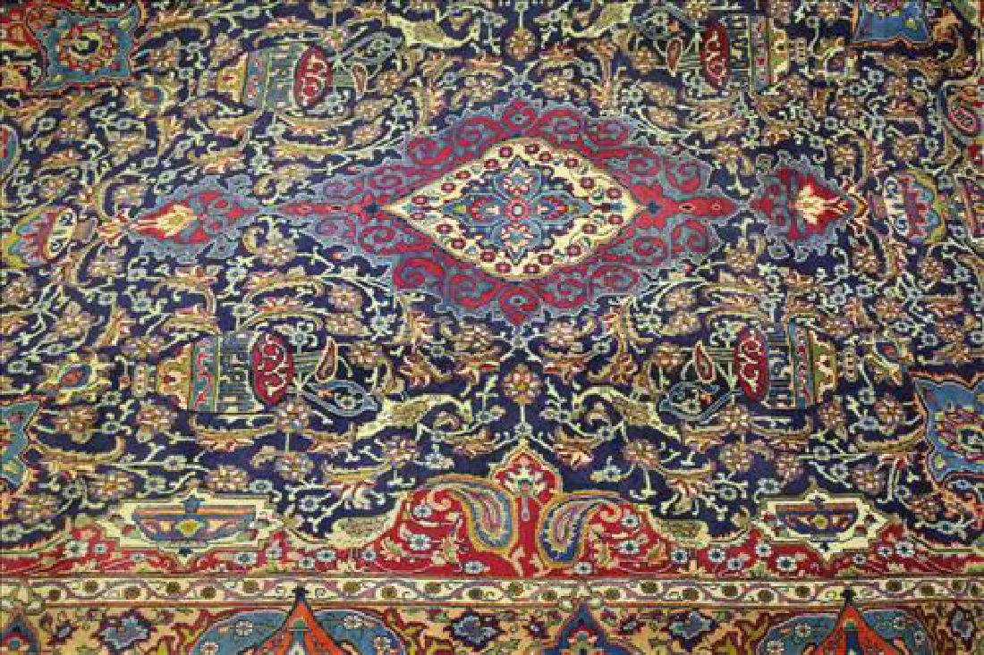 Semi antique Persian Mashad rug, 9.5 x 12.10 - 2