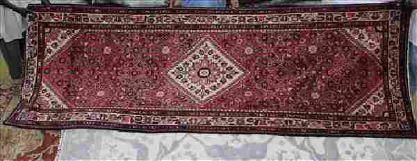Semi antique Persian Malayer rug, 4 x 10.8