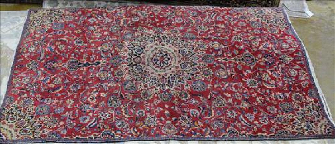 Antique Persian Isfahan rug, 5.4 x 8.4