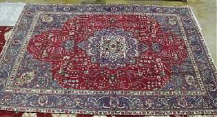 Semi antique Persian Tabriz rug 86 x 116