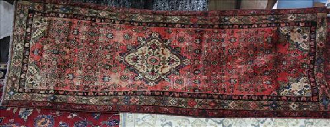 Semi antique Persian Hamadan rug, 3.6 x 9.10