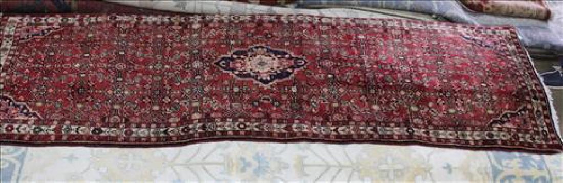 Semi antique Persian Malayer rug, 3.10 x 9.10