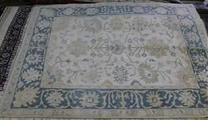 Oushak rug, 8.2 x 10