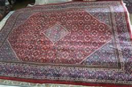 Antique Persian Sarouk Mahal rug, 10 x 13.2