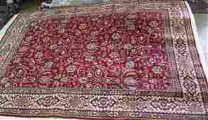 Semi antique Persian Tabriz rug, 10 x 13