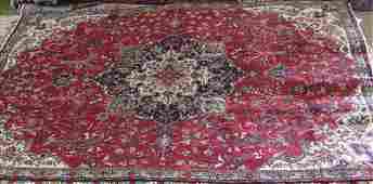 Semi antique Persian Tabriz rug 73 x 108