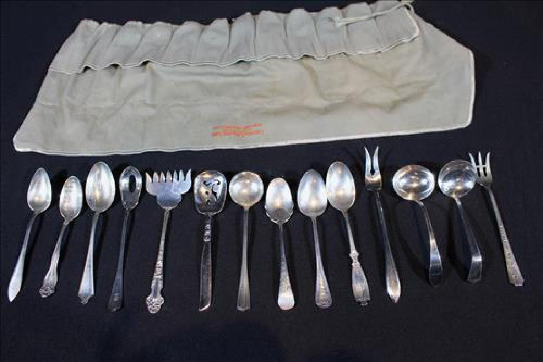 12 miscellaneous pieces of sterling silver