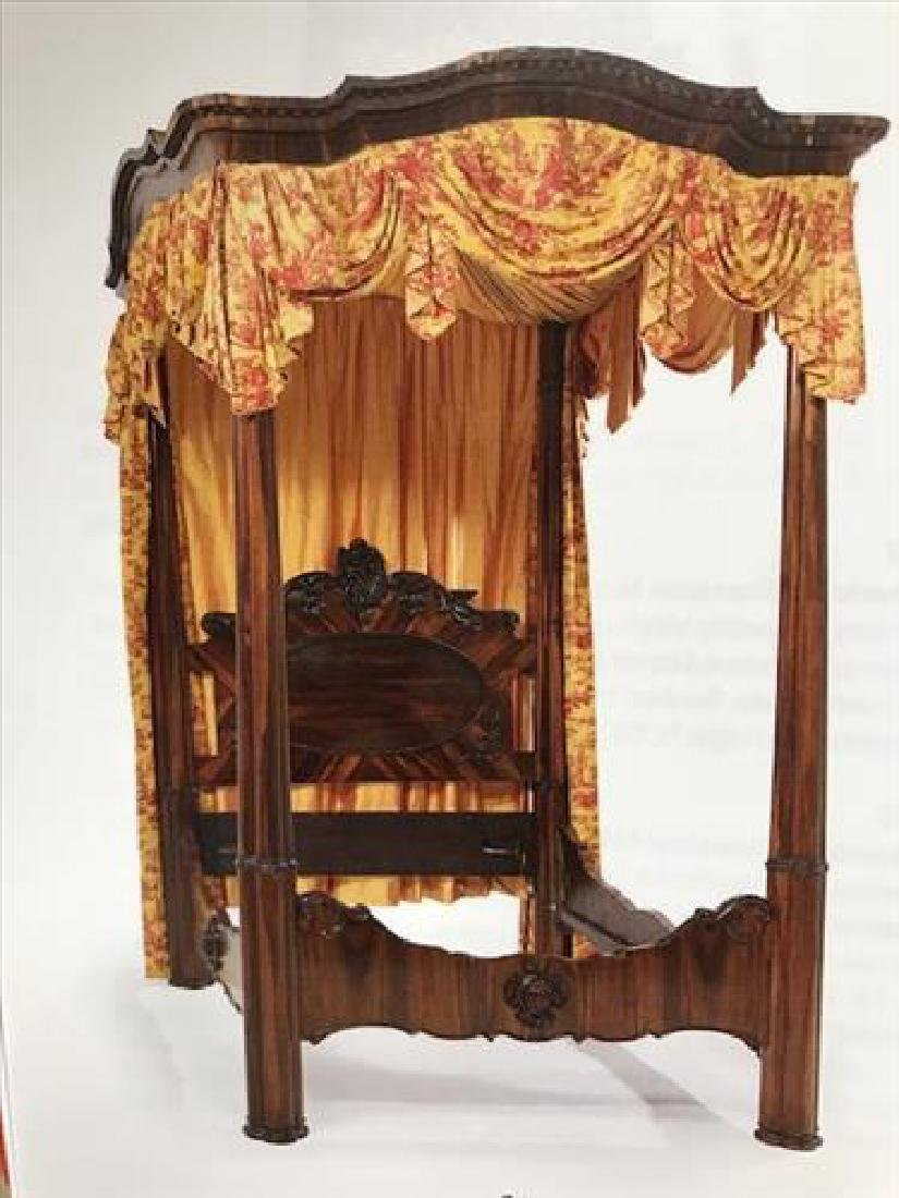 Rosewood full tester plantation bed by William Mc