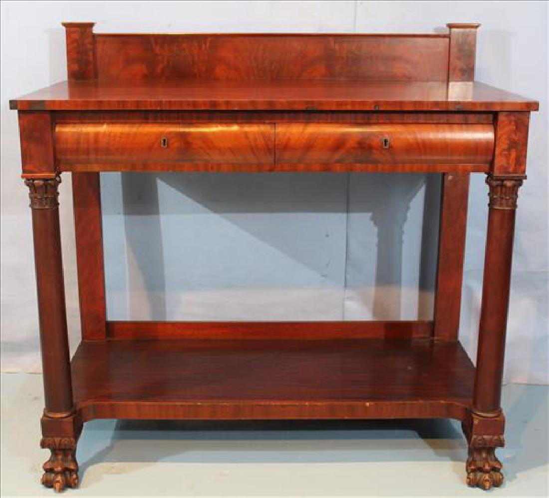Mahogany Empire server with column front