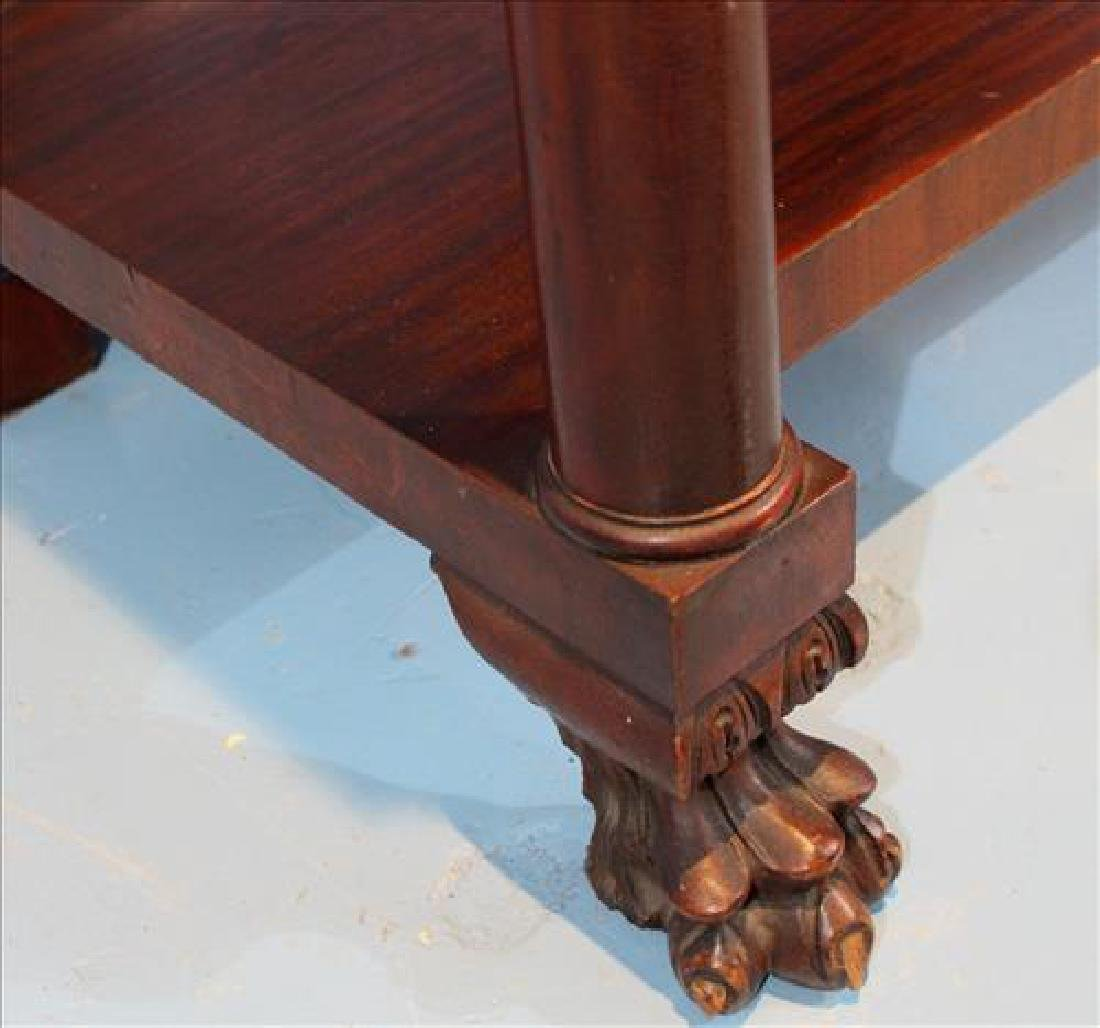 Mahogany Empire server with column front - 3