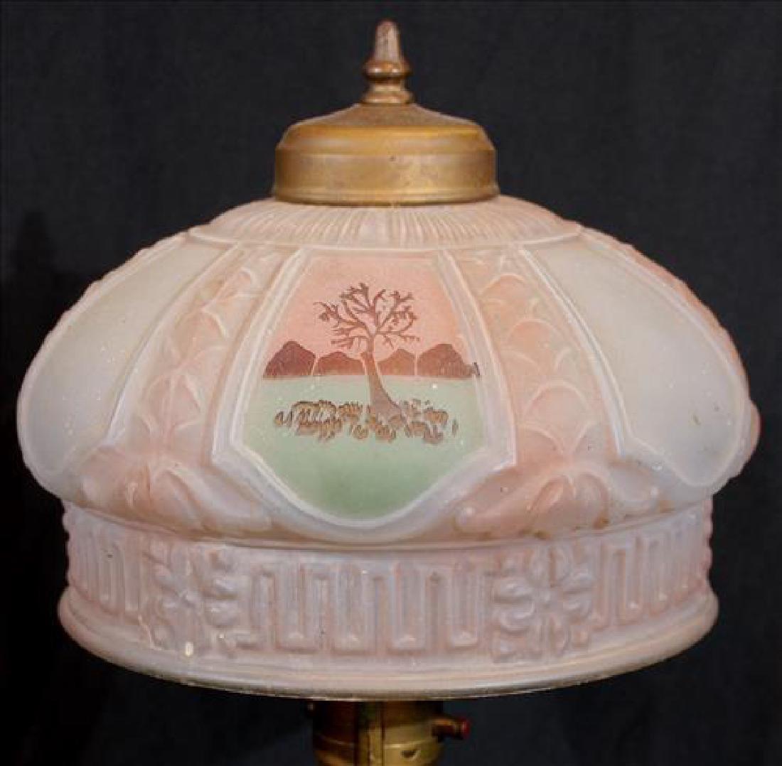 Small Boudoir lamp, ca. 1920, 16 in . T. - 2