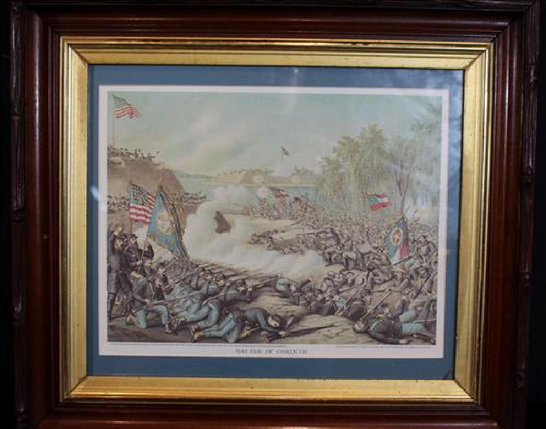 Cruz and Allison print of Civil War, Battle of Corinth,