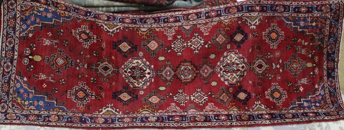 Semi antique Persian Lilihan rug, 3.5 x 9.2