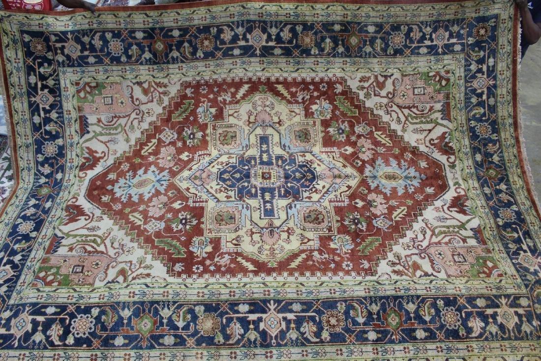 Super Heriz rug, 10.1 x 14.1