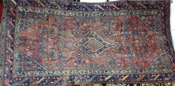 Semi antique Persian Malayer rug 310 x 75