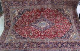 Semi antique Persian Kashan rug 95 x 133