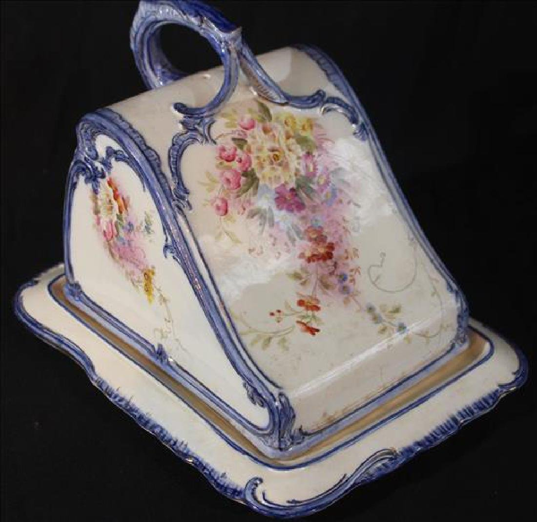 Antique cheese dish marked Royal Bon