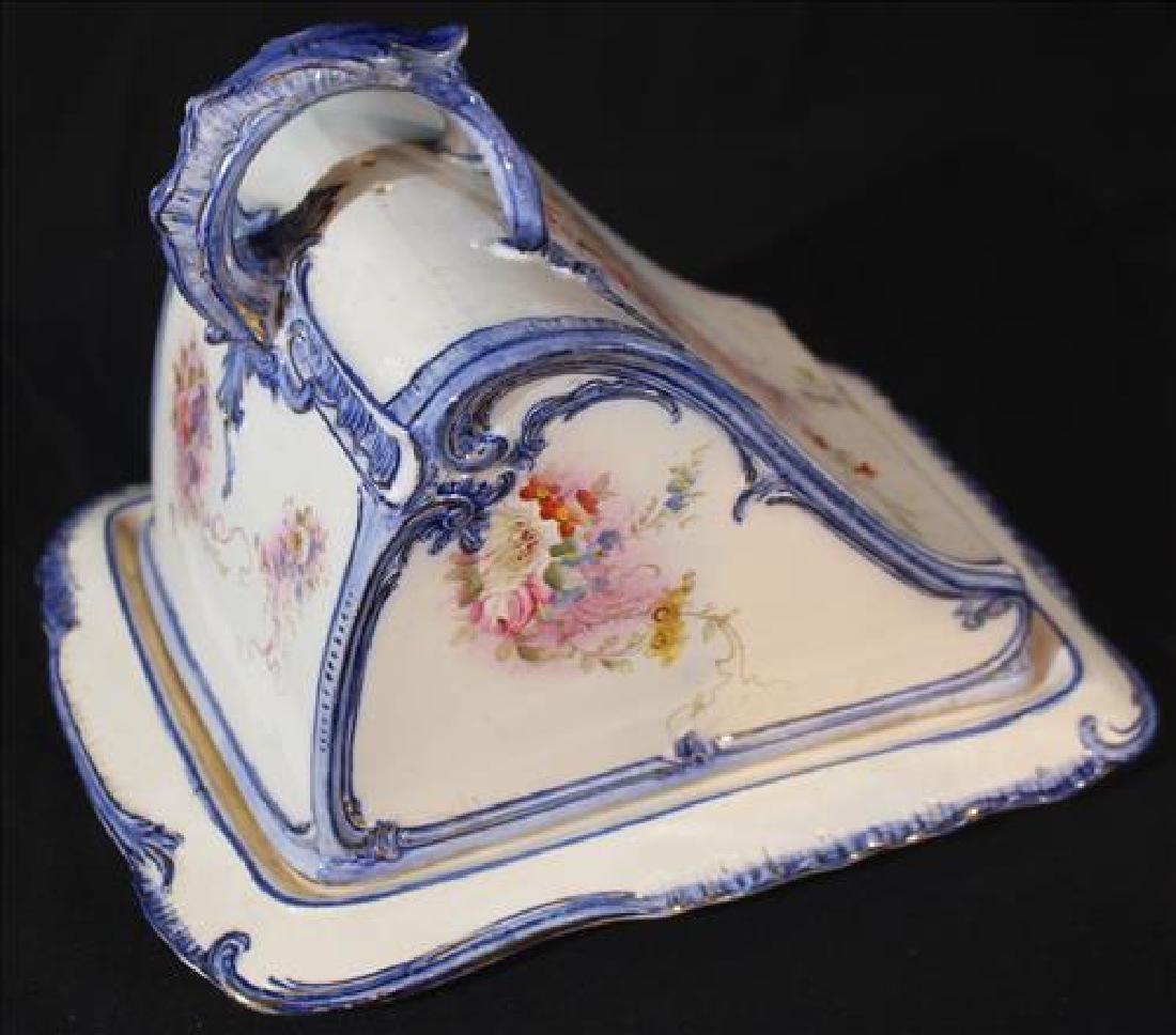 Antique cheese dish marked Royal Bon - 2
