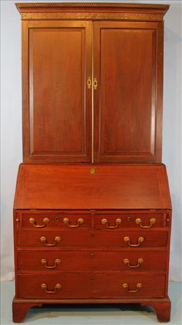 Fine 18th Century 3 part Georgian secretary