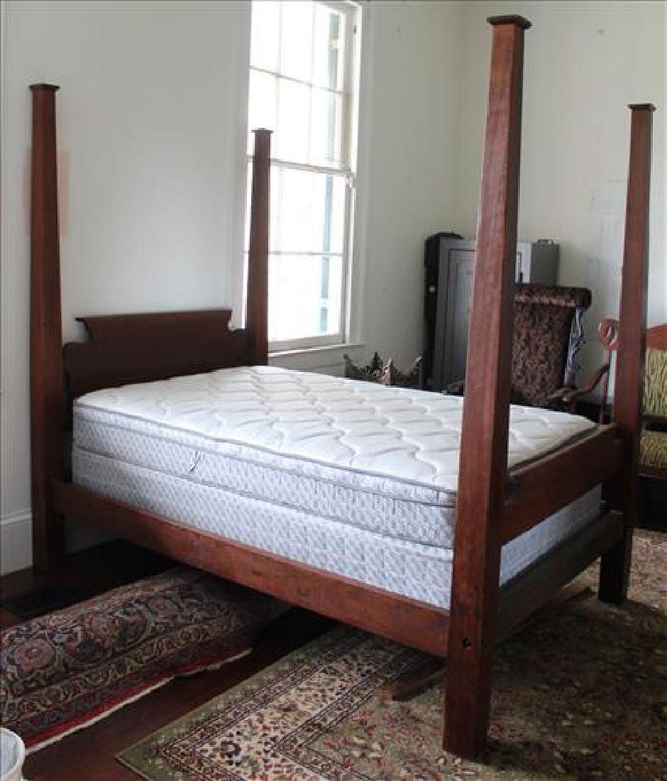Mahogany Empire 4 poster bed