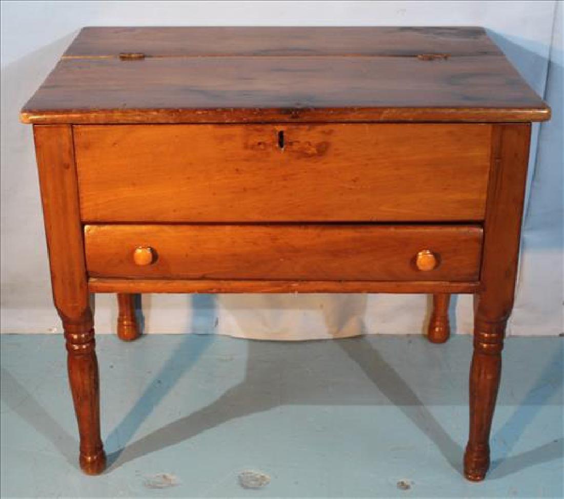 Cherry primitive plantation desk