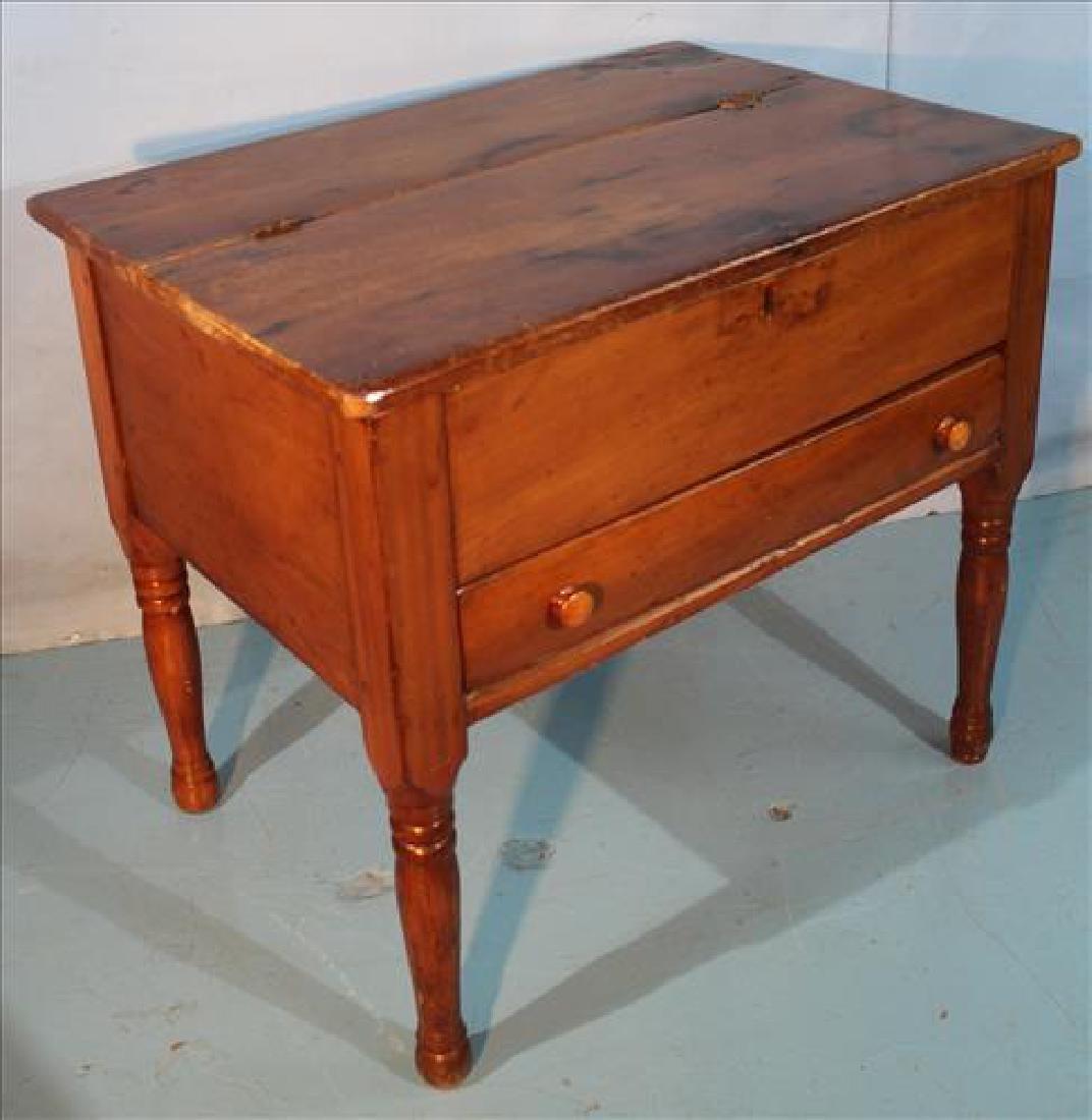 Cherry primitive plantation desk - 2