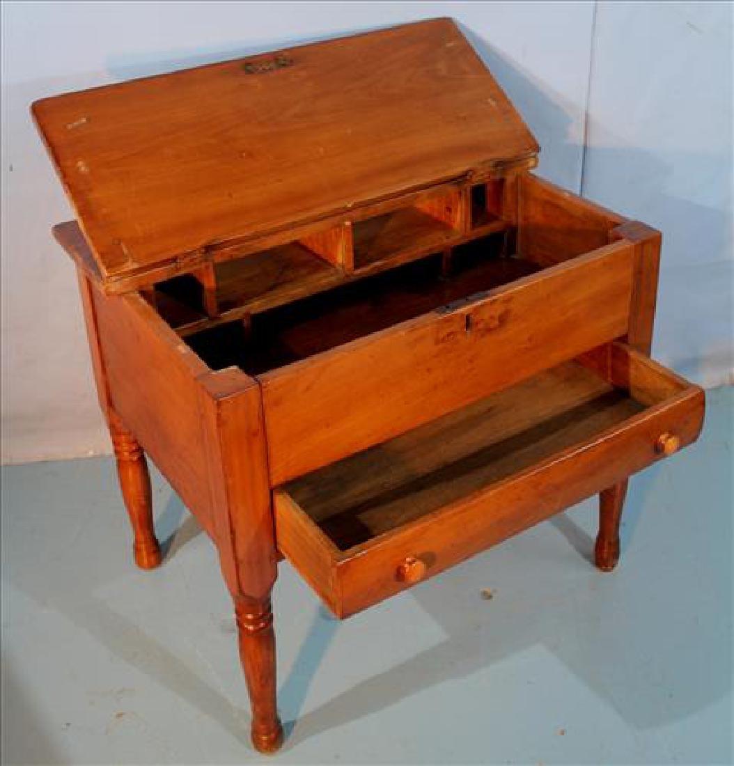 Cherry primitive plantation desk - 3